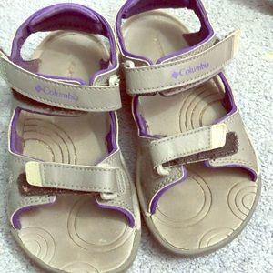 Girls Columbia sandals